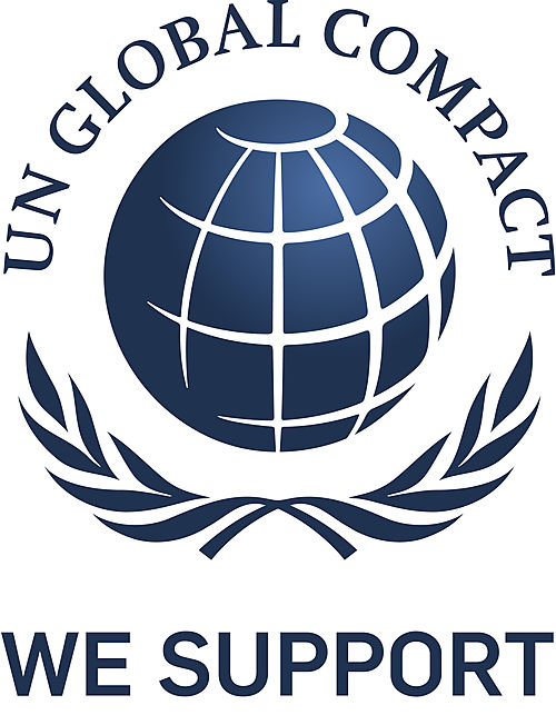 we support UN Global Compact logo